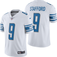 Nike Detroit Lions White Matthew Stafford Limited Jersey
