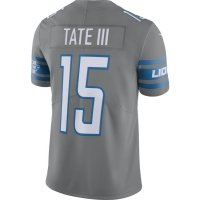Nike Detroit Lions Dark Steel Gray Golden Tate III 2017 Color Rush Limited Jersey