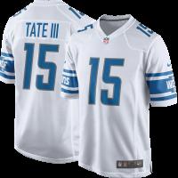 Nike Detroit Lions White Golden Tate III 2017 Game Jersey 8b0eb19ec
