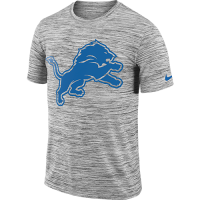 Nike Detroit Lions Black Legend Velocity Travel Tee