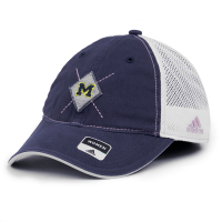 3c25d9b9c49 Adidas Michigan Wolverines Women s Navy Slouch Adjustable Cap