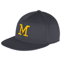 8af14744cc8 Adidas Michigan Wolverines Navy Super Flex Stretch Fit Cap