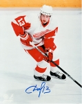 Detroit Red Wing Pavel Datsyuk 8X10 Autographed Photo #2