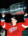 Detroit Red Wing Sergei Fedorov 8X10 Autographed Photo #6