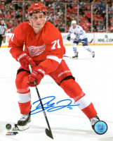 Detroit Red Wing Dylan Larkin 8X10 Autographed Photo #1