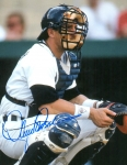 Detroit Tigers Lance Parrish 8X10 Autographed Photo