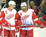 Detroit Red Wing Henrick Zetterberg 8X10 Autographed Photo #2