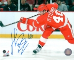 Detroit Red Wing Henrick Zetterberg 8X10 Autographed Photo #3
