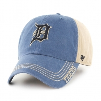 47 Brand Detroit Tigers Khaki Clinton Clean Up Adjustable Cap