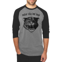 Motor City Bad Boys Premium Heather Tri-Blend 3/4-Sleeve Raglan