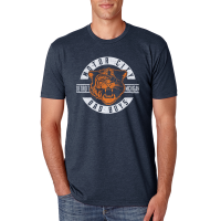 Motor City Bad Boys Midnight Navy Premium Crew