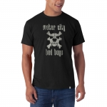 Motor City Bad Boys Black Basic Flanker Tee by '47 Brand