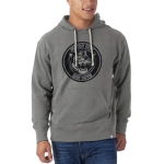 Motor City Bad Boys Wolf Grey Striker Pullover Hoodie by '47 Brand