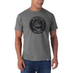 Motor City Bad Boys Wolf Grey Knockout Tee by '47 Brand