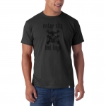 Motor City Bad Boys Graphite Grey Basic Flanker Tee by '47 Brand