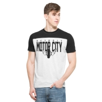 Motor City Bad Boys Cinderblock Drop Back Tee by '47 Brand