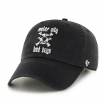 Motor City Bad Boys Black Basic Logo Clean Up Adjustable Cap by '47 Brand