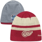 Reebok Detroit Red Wings Red 2014 Winter Classic Uncuffed Cap