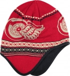 Reebok Detroit Red Wings Red 2014 Winter Classic Dog Ear Knit Cap