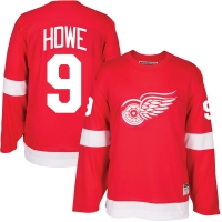 CCM Detroit Red Wings Red Gordie Howe Heroes of Hockey Alumni Jersey