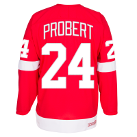 CCM Detroit Red Wings Red Bob Probert Alumni Premier Jersey