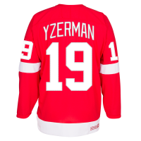 CCM Detroit Red Wings Red Steve Yzerman Alumni Premier Jersey