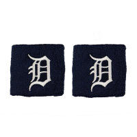Franklin Sports Detroit Tigers Embroidered Wristbands