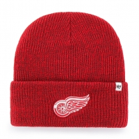 47 Brand Detroit Red Wings Red Brain Freeze Cuff Knit Beanie