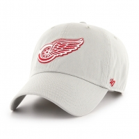 2c964ac2 47 Brand Detroit Red Wings Gray Clean Up Adjustable Cap