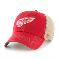 47 Brand Detroit Red Wings Red Trawler Clean Up Adjustable Cap