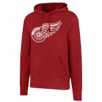 47 Brand Detroit Red Wings Red Headline Pullover Hood