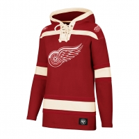 47 Brand Detroit Red Wings Women's Red Lacer Hoodie