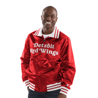 Starter Detroit Red Wings Red The Captain Satin Jacket