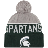 New Era Michigan State Spartans Green Sport Knit Cap