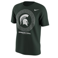 Nike Michigan State Spartans Green Fan Tee