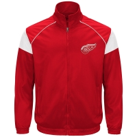 G-III Detroit Red Wings Red Track Jacket