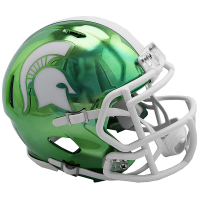Riddell Michigan State Spartans Alternate Chrome Speed Mini Helmet