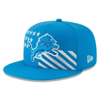 New Era Detroit Lions Blue 59Fifty 2019 Draft Day Fitted Cap