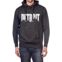 MI Culture Charcoal Detroit Skyline Pullover Hoodie