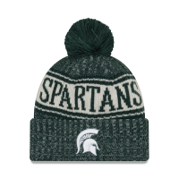 New Era Michigan State Spartans Green Sport Knit Hat