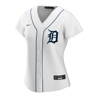 Nike Detroit Tigers Women's Home White Replica Jersey