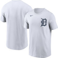 Nike Detroit Tigers White Logo Short Sleeve T-Shirt
