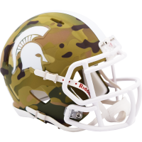Riddell Michigan State Spartans Camo Alternate Mini Speed Helmet