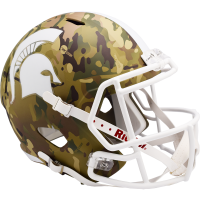 Riddell Michigan State Spartans Camo Alternate Speed Full Size Replica Helmet