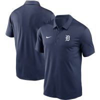 Nike Detroit Tigers Midnight Navy Dri-FIT Franchise Performance Polo