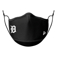 New Era Detroit Tigers Black Face Mask