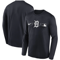 Nike Detroit Tigers Pitch Blue Authentic Collection Legend Performance Long Sleeve T-Shirt