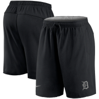 Nike Detroit Tigers Black Authentic Collection Flux Performance Shorts