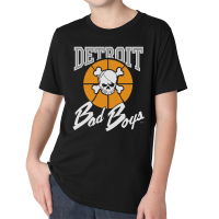 Detroit Bad Boys Youth Black Classic T-Shirt