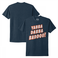 Motor City Bad Boy Midnight Navy Yabba Dabba Baddoo T-Shirt